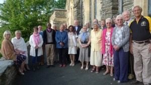 Bishop Dan and friends from the UK at Fairbourne