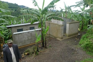Revamped latrines in Burema