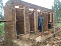 Ndago Primary School toilets