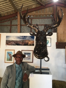 Sculptor Lenton Scantlebury