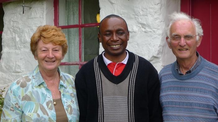 John and Sheila Houghton with Bishop Dan Zorecka