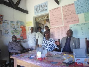 Bwambara Primary headmaster's office