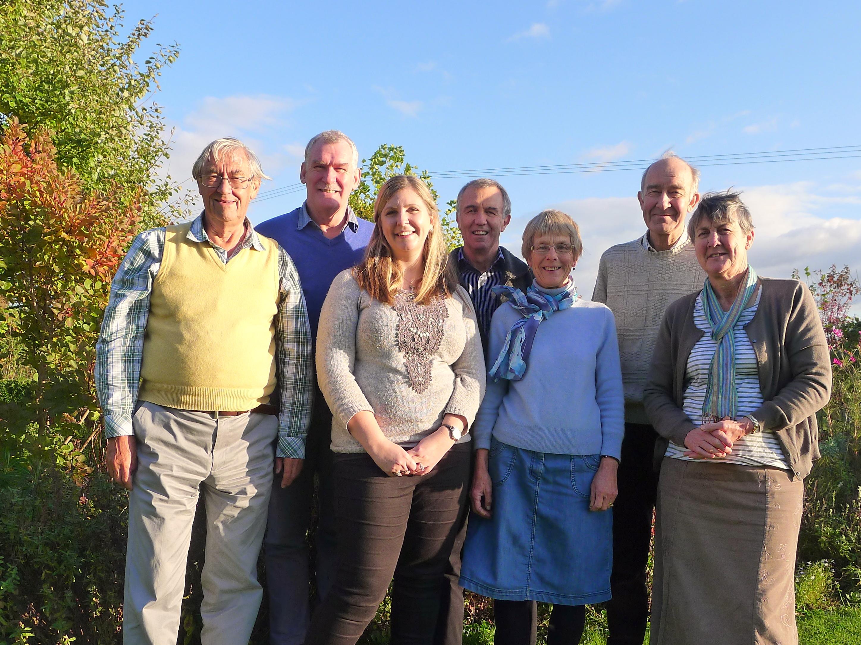 WATSAN trustees group photo